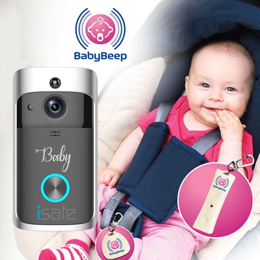 מוניטור לתינוקות ומכשיר למניעת שכחת ילדים ברכב בחבילה אחת