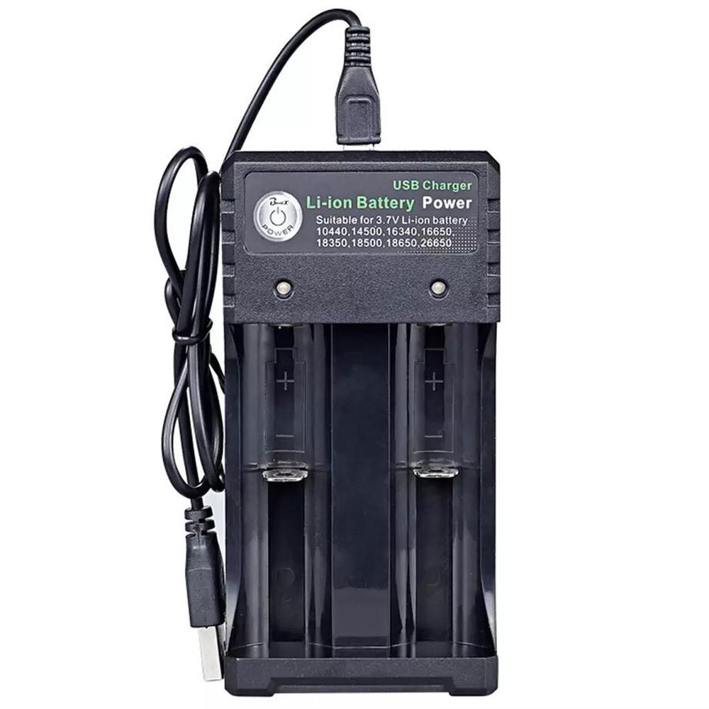 מטען סוללות ליתיום USB