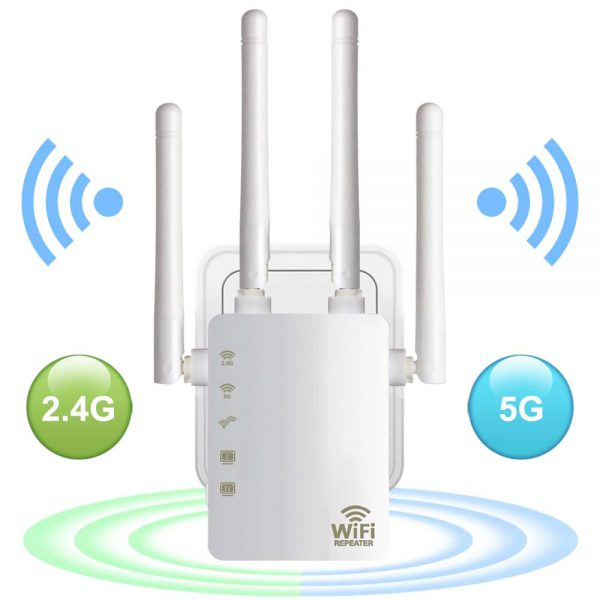 WiFi-Range-Extender-300-1200Mbps-Dual-Band-2-4-5GHz-Wi-Fi-Internet-Signal-Booster-Wireless