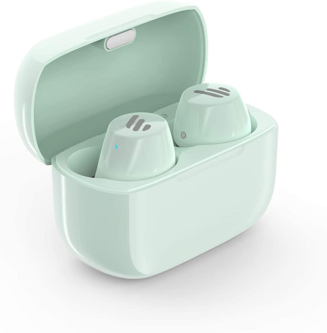 אוזניות בלוטוס אלחוטיות ירוק Edifier TWS1 Bluetooth Earbuds Mint Green