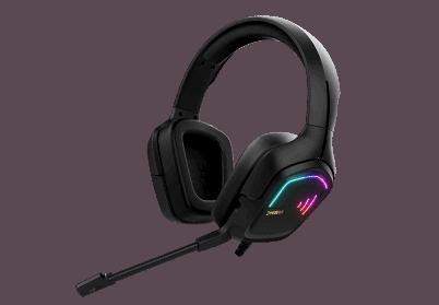 אוזניות גיימינג מומלצות איכותיות HEBE M2 RGB
