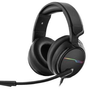 אוזניות גיימינג מקצועיות למחשב עם מיקרופון Rampage RGW9 COMFORT