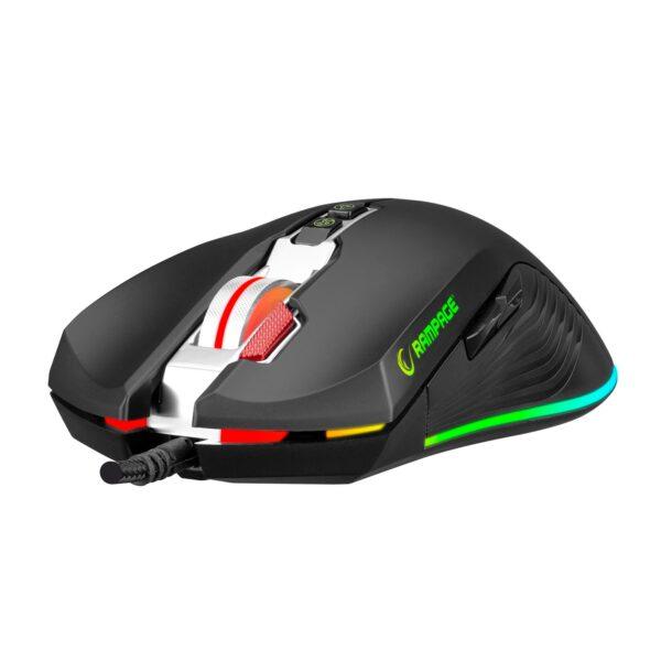 עכבר גיימינג למחשב ציוד גיימרים Rampage SMX-R75 STRIKER