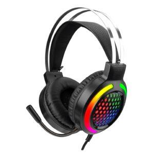 אוזניות גיימינג מקצועיות למחשב עם מיקרופון Snopy SN-GX82 EXODUS