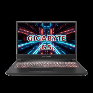 """מחשב נייד גיימינג לפטופ מומלץ לגיימרים זאפ GIGABYTE G5 15.6"""" i7"""