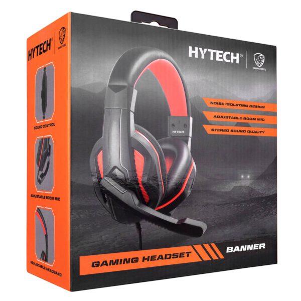אוזניות גיימינג מקצועיות למחשב עם מיקרופון Hytech HY-G9 BANNER