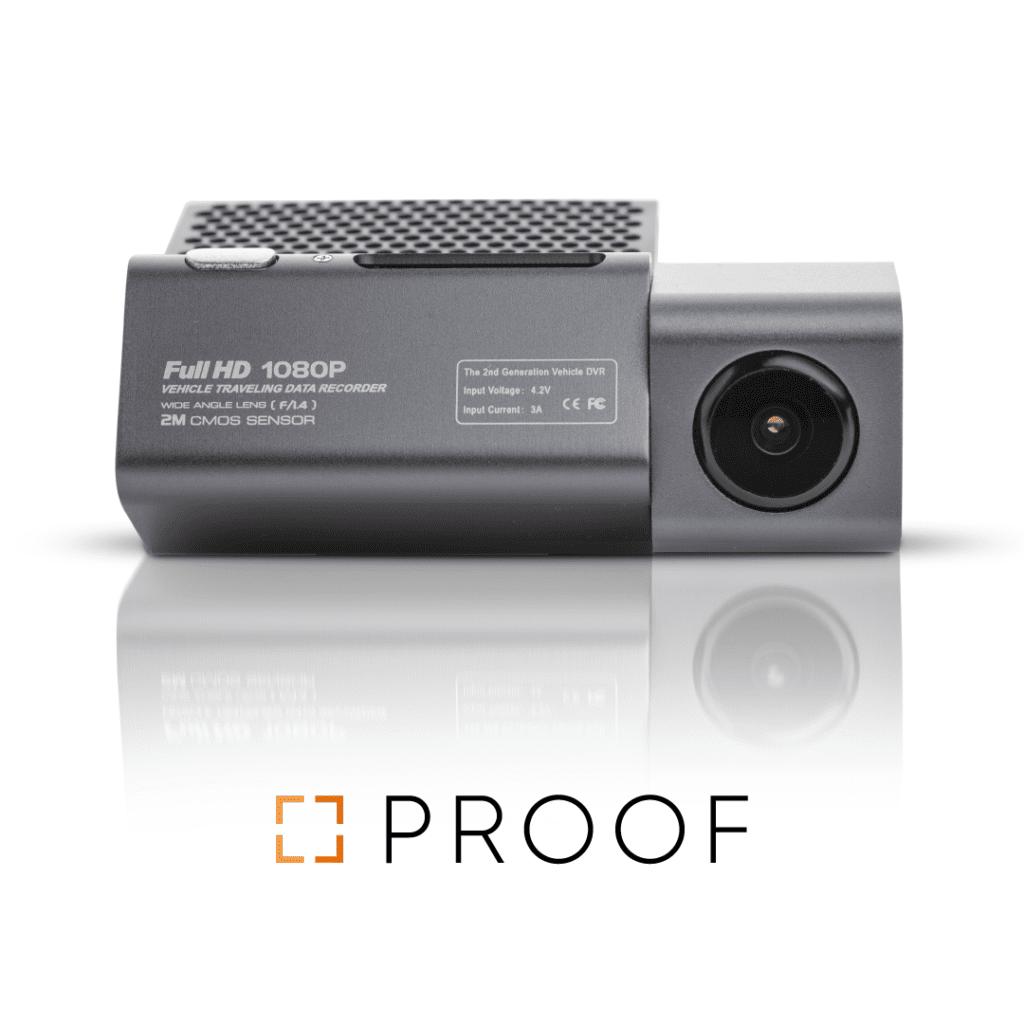 מצלמת דרך PROOF FR300 מצלמת אבטחה ונסיעה לרכב
