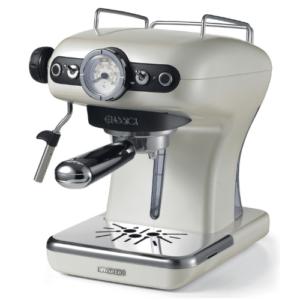 מכונת קפה אספרסו ביתית ARIETE בעיצוב רטרו וינטג'