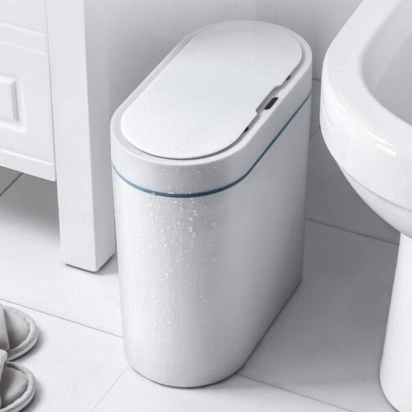 פח אשפה חכם לשירותים / חדרי שינה / חדרי ילדים - עם חיישן / סנסור